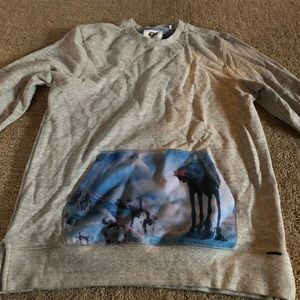 On the byas Star Wars empire strikes back crewneck
